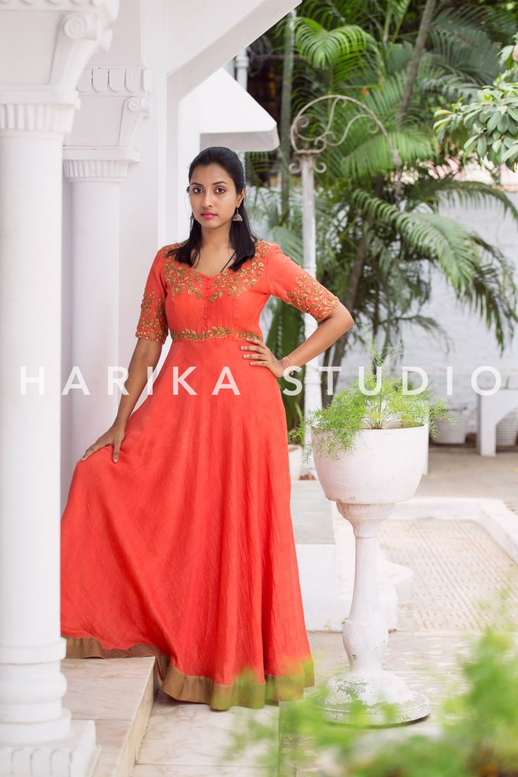 Indian Ethnic Wear|Anarkali| Kota Fabric Kurta|Indian Fashion|Traditional Wear|Fashion Blogger|OOTD|Outfit of the Day|Hyderabad boutiques |Hyderabad designers|Hyderabad Bloggers|Hyderabad Models